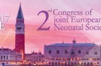 2nd Congress of joint European Neonatal Societies, 31 Οκτωβρίου-4 Νοεμβρίου 2017